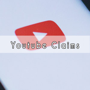 youtube copyright claims